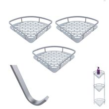 W23 Bathroom Shelves Aluminum Shampoo Soap Towels Hanging Storage Accessories included