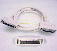 High Speed 1.5M 50P DB50 SCSI Hard Disk Data line DB50 Male 50Pin SCSI Cable Small Computer System Interface HDD Data Cable Line