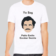 Yo Soy Pablo Escobar Drugs King of Coke Narcos Colombian Men's T Shirt Men T Shirt Print Cotton Short Sleeve T-shirt