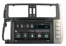Car dvd Player for TOYOTA PRADO lc150 2010-2013 Cortex A9 dual core 256MB ram/Capactive touch/1080P/DVR/3G/WIFI/TPMS/GPS