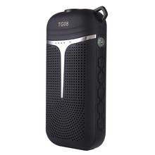 Hot 6 in 1 LED Bluetooth speaker Flashlight Power Bank handle hook Radio FM Compass enceinte bluetooth portable caixa de som new