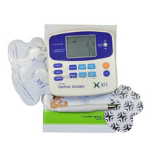 Freeshipping 1pc XFT-320A DUAL TENS MACHINE DIGITAL MASSAGE + ACCUPUNCTURE PEN body massager(China)