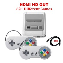HDMI / AV Out MINI Retro Classic handheld game player Family TV video game console Childhood Built-in 620 / 621 8 bit Games(China)