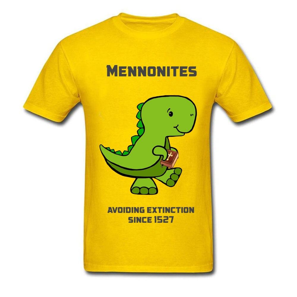 Mennonite Asuras Tops Shirt Designer Round Collar Casual Short Sleeve Pure Coon Men Tshirts Custom Tee Shirts Mennonite Asuras yellow