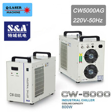 Industrial Laser Water Chiller Teyu S&A CW-5000AG for 80W 100W CO2 laser tube