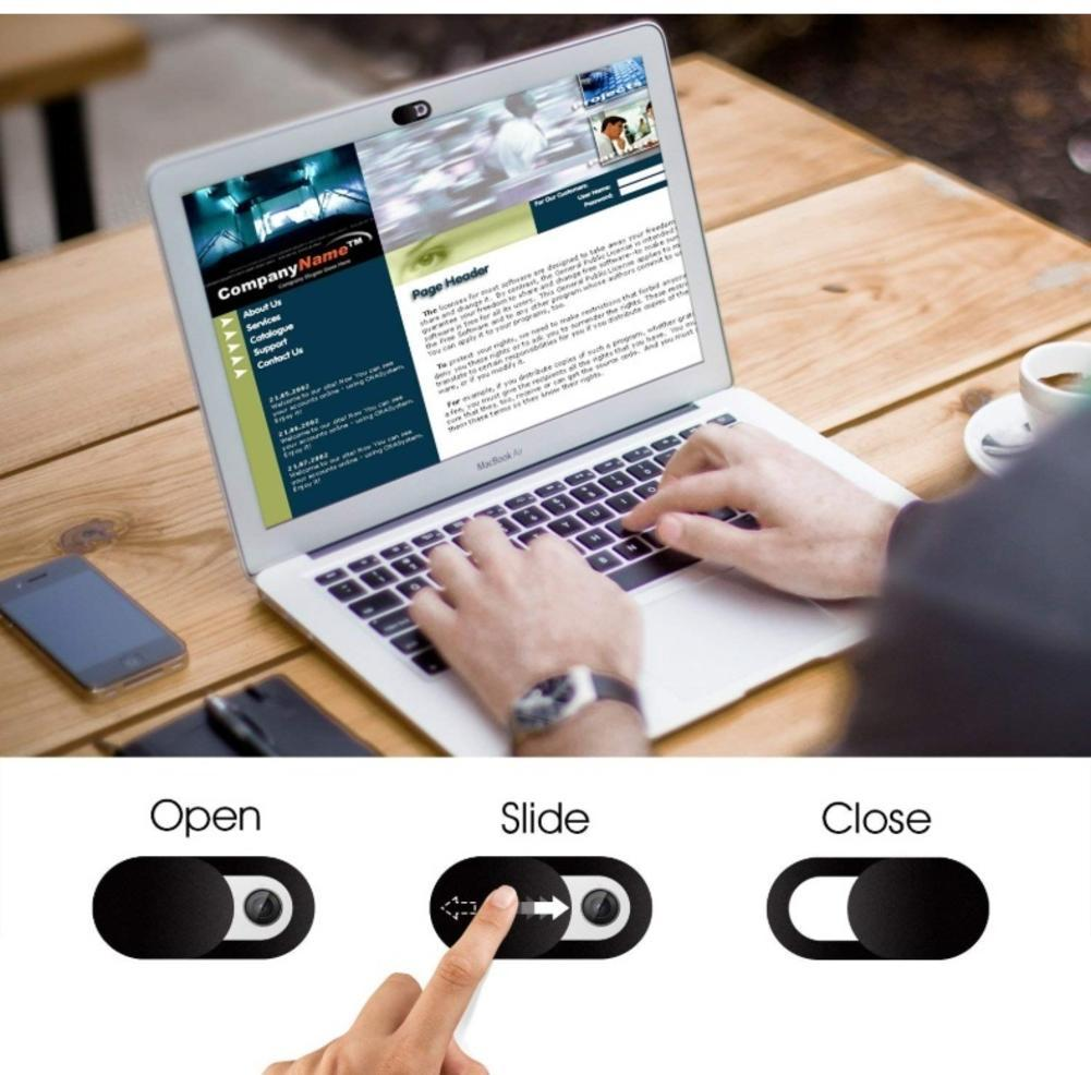 Pack Of 6 Privacy Covers For Webcam & Smartphones 8