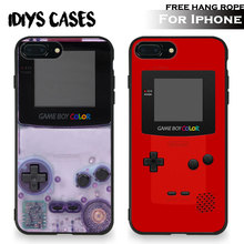 Vintage Retro Game boy Amazing Free Hang Rope Tpu Soft Silicone Phone Case Cover Shell Bag For Apple iPhone 5 SE 5S 6 6S 7 PLUS