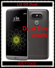 "LG G5 Dual H860N Original Unlocked GSM 4G LTE Dual Sim Android Quad Core RAM 4GB ROM 32GB 5.3"" 16MP Mobile Phone"