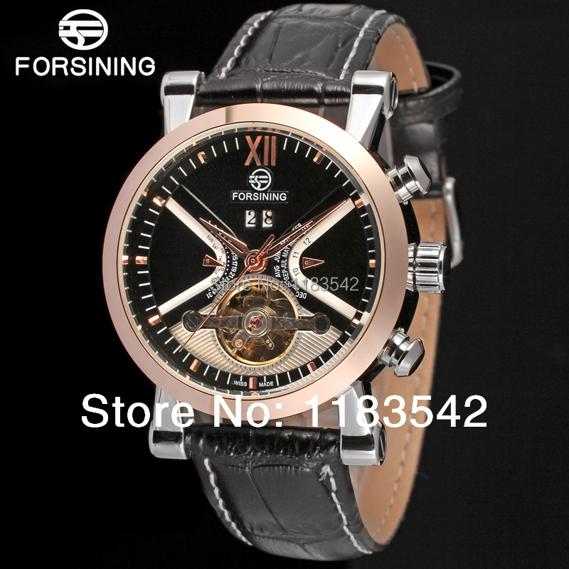 Forsining  new Automatic fashion dress watch for men crazy sales free shipping FSG2371M3T1<br>