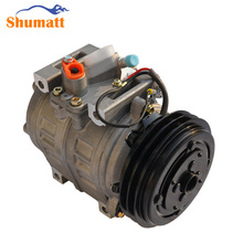 Auto Diesel Bus AC Airconditioning DENSO 10P30C Compressor With 2 Pulley Clutch Replace for Toyota Coaster Middle Bus ACP053