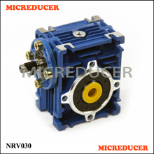 China NRV030 Worm Gear Speed Motor Reductor