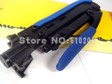 FREE SHIPPING Multifunction Professional Compression Crimping Tool For crimping RG59 RG6 RG11 type compression connectors