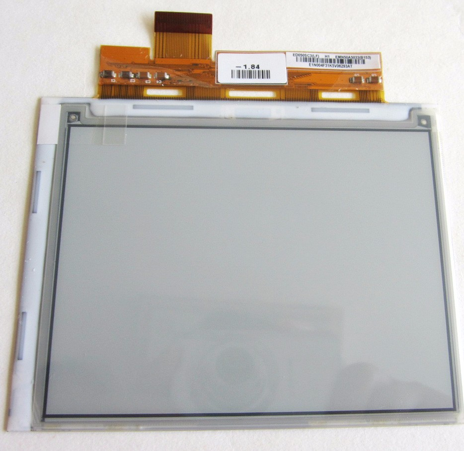 New Original ED050SC3 E-ink LCD display For Gmini MagicBook M5 / ORSiO b751/ Bookeen CyBook Opus<br>