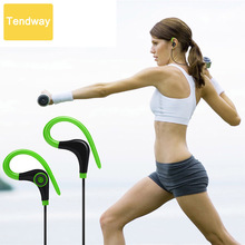 Stereo Wireless Sports headphones Earphones Bluetooth in ear Handfree Headset for Running Driving Walking Sporting auriculares(China)