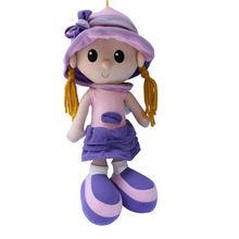 BOHS Big Size Classic Cloth Soft and Rag Doll 42cm(China)