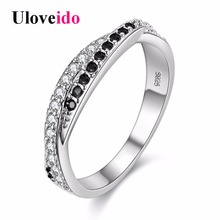 Silver Ring Women Rings CZ Diamond Jewelry  Bague Femme Zircon Anel Feminino Crystal Ring Charms Vintage Jewelry 15% off Y022