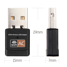 2.4GHz 5GHz USB Wifi Adapter 600mbps Wifi Antenna support Windows Mac 802.11b/n/g/ac USB Network Card wifi for laptop PC