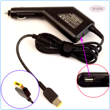 20V 4.5A 90W Laptop Car DC Adapter Charger Power Supply + USB Port for Lenovo / Thinkpad L440 T540P Y40 Y50 Z40 Z50 E540 K2450
