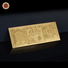 IRAQ 25000 DINAR GOLD BANKNOTE GOLD 999.9 GOLD BANK NOTE(China)