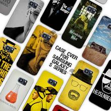 Hot sale breaking bad Clear Case Cover Coque Shell for Samsung Galaxy S3 S4 S5 Mini S6 S7 Edge Plus(China)