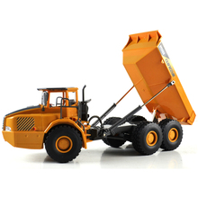 1:10 Scale 2.4G Remote Control Rc Dump truck construction truck radio control Tipper Dump-car Toy ,rc tip lorry