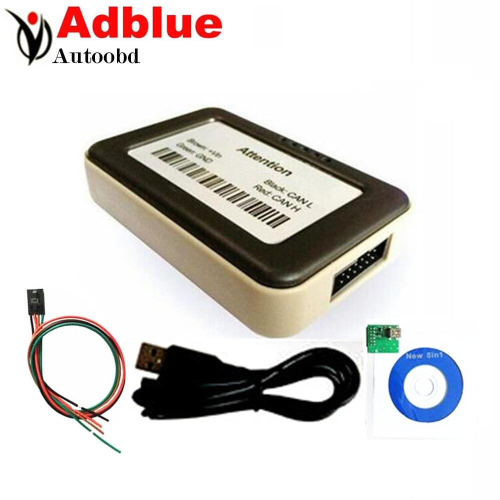 Best quality PCB NOx sensor VD400 Adblue emulator 8 in 1 trucks MAN,Iveco,Renaut, DAF/fod/bnz/v-olvo SUPPORT euro 6<br><br>Aliexpress