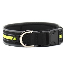 Hot Sale Outdoor Light Reflective Puppy Collar Nylon Pet Cat Dog Collar Adjust Reflecting(China)