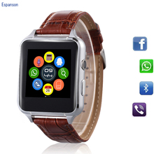 Espanson X7 Smart Watch Spor Clock With Sim TF Card Slot Bluetooth suitable for Apple iPhone Android Phone Smartwatch wristwatch(China)