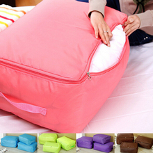 Clothing Organizer Home Supplies Creative storage bag/box household quilt/clothes for box Bedding Travel Outdoor Storage Bag 45(China)