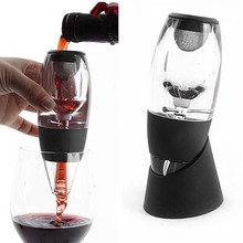 Perfect Christmas Gift Bar Tools Magic Wine Decanter Set Essential Equipment Red Wine Aerator Filter Set(China)