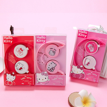 Cute cartoon headphones Hello kitty earphone With Microphone for Mobile Phone MP3/MP4/Computer for iphone samsung xiaomi HTC