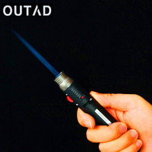 OUTAD Outdoor Lighter JET Torch Flame Pencil Butane Gas Refillable Fuel Welding Soldering 1300 degree Pen melting frozen lock