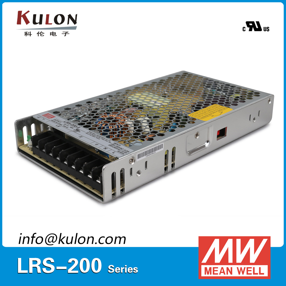 Original Mean well LRS-200-3.3 single output 132W 3.3V 40A Meanwell Switching power supply<br>