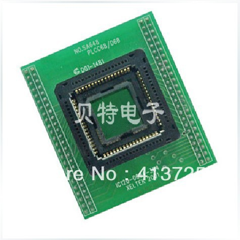 Sirte special IC test block burning PLCC68 switchover, SA648<br><br>Aliexpress