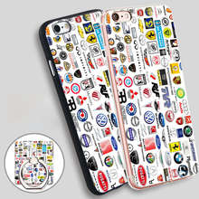ca brands names az Soft TPU Silicone Phone Case Cover for iPhone 4 4S 5C 5 SE 5S 6 6S 7 Plus