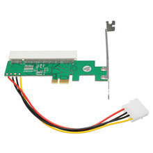 PCI-E to PCI Adapter Card PCI Express Riser Card Asmedia 1083 Chipset Green AC385V Transition Card Avoid Driving Card Wholesale(China)