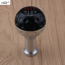 RIN 2016 new GTI manual transmission gear shift knob / car Universal shift lever / blue / black / silver / red