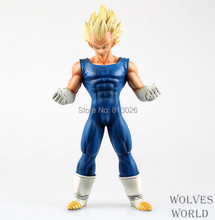 25cm Dragon Ball Z Super Saiyan Vegeta Action Figure PVC Collection figures toys for christmas gift brinquedos with Retail box