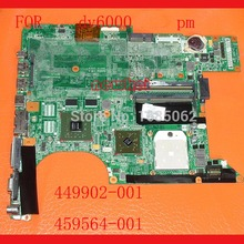 HOT!!! For HP DV6000 DV6500 laptop motherboard 449902-001 459564-001 DA0AT1MB8H0RE REV:H G86-730-a2,Tested and good working