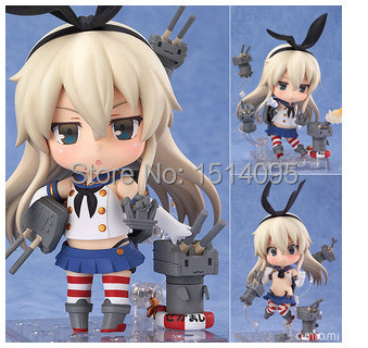 #371 Nendoroid 4 Cute Kantai Collection Shimakaze PVC Mini Action Figure Toy Doll ND020<br><br>Aliexpress