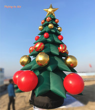 5m/7m Height Giant Inflatable Christmas Tree for Home/Mall Christmas Decoration