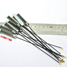433Mhz internal PCB antenna wireless digital module aerial patch 40*7mm IPEX connector(China)