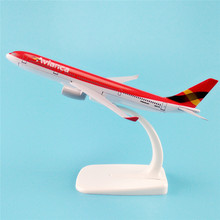 16cm Metal Alloy Plane Model Air Avianca A330 Airways Airbus 330 200 Airlines Airplane Model w Stand Aircraft Gift(China)