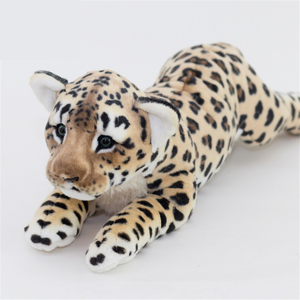 Fancytrader Soft Stuffed Animals Tiger Plush Toys Pillow Simulated Animal Baby Tiger Leopard Doll Brinquedo Toys For Children9