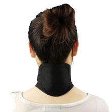 2PCS Women Neck Massager Purify Blood Magnetic Therapy Cervical Vertebra Protection Spontaneous Heating Belt Human Body Massage(China)