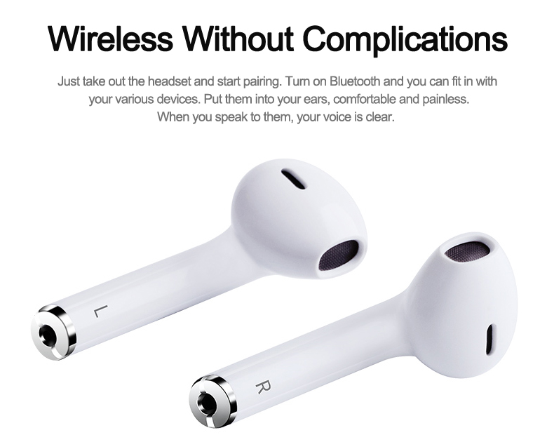 2018 New IFAN I9 Bluetooth Mini Double ear Earbuds Earphone Wireless Air Headsets pods with mic for IPhone 8 7 Plus 6 6s Android (24)