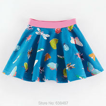 New 2017 Brand Quality 100% Cotton Double layer Baby Girls Skirt Summer Kids Children's Clothing Baby Girl Clothes Summer Skirts(China)