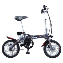 BIZOBIKE SPORT 14inch Mini Electric Foldable Bicycle With 15Ah Lithium Battery 48V 250W Hub Motor