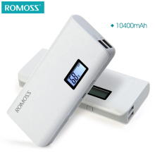 ROMOSS Sense 4 Plus LCD 10400mAh Mobile Power Bank Supply Station External Battery Pack Charger powerbank battery(China)