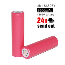 UR 18650ZY 3.7V 2600mAh original li-lon Rechargeable 18650 lithium ion battery for SANYO for electronic cigarette(China)